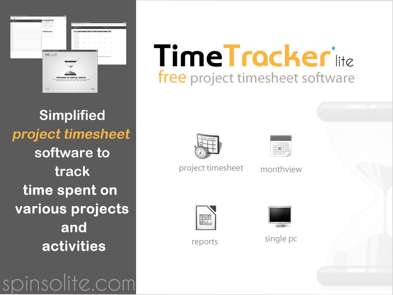 Timetracker Lite 2015:Free Timesheet screenshot